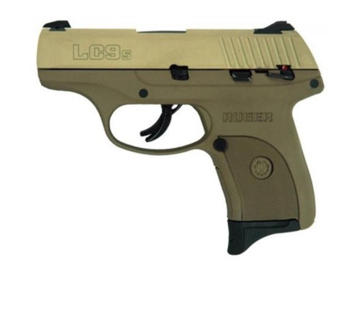 Ruger LC9S, Full Flat Dark Earth, 9mm, 7rd,