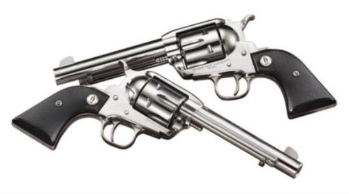 "Ruger SASS Vaquero .45 Colt, 5.5"", Stainless Steel, Matching Pair, Price Shown is for Single Gun, Select two in Cart"