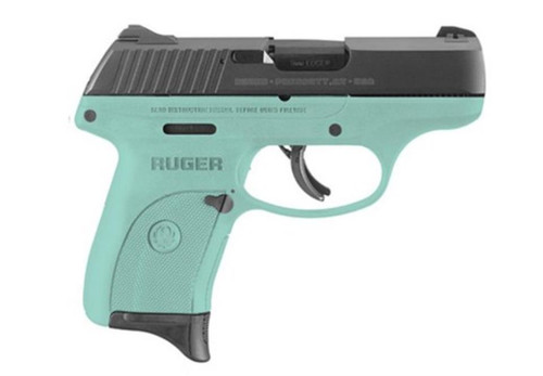 "Ruger LC9S 9mm 3"" Barrel Turquoise Adjustable Sights 7rd Mag TALO Edition"
