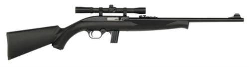 Mossberg Model 702 Plinkster Bantam 22LR 18 Inch Barrel Blue Finish Synthetic Stock 10 Round With Scope