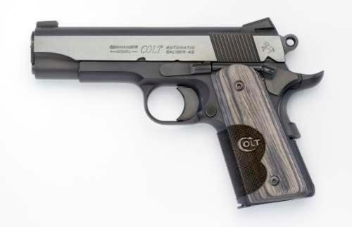 Colt 1911 Wiley Clapp Specail Edeition 45 ACP, Commander Slide, Officer Frame