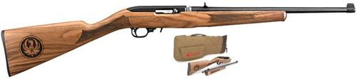 "Ruger 10/22 Classic 50th Anniversary Takedown Rifle, 22LR 18.5""Barrel Walnut Stock, 10 Rd Case"