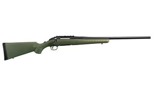 "Ruger American Predator, .204 Ruger, 22"", Moss Green Composite Stock, Matte Black"