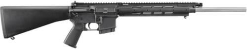 "Ruger SR556VT Varmint Rifle, 5.56/223, 20"" SS Barrel, 1/8 Twist, 5rd Mag"