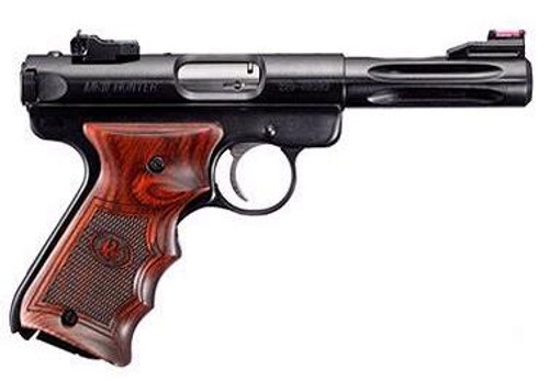 "Ruger MKIII Deluxe Special Edition, 4.5"" W/Rosewood Grips, Fluted Barrel and More"