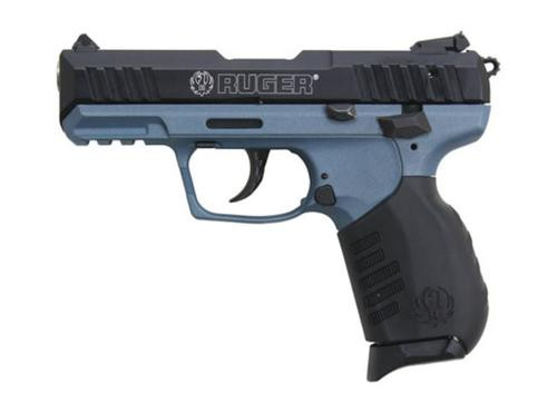 """Ruger SR22 22LR, Blue Titanium Frame, 3.5"""", 10rd"""