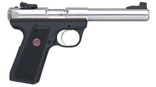 "Ruger Model 22/45 Target Pistol, 5.5"" Bull Barrel, Adjustable Sights"