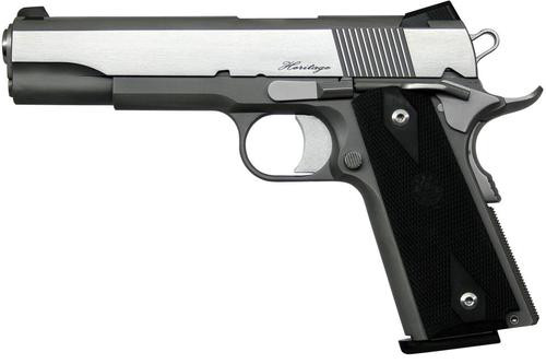 "Dan Wesson RZ-45 Heritage, 45 ACP, 5"", 8rd, Stainless Steel"