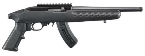 """Ruger 22 Charger 22LR 10"""" Threaded Barrel, Optic Ready, Polymer Stock, 15 Rd Mag"""