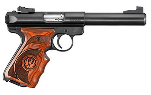Ruger Mark III Target 22LR Pistol, Bull Barrel, 10 Rnd Mag
