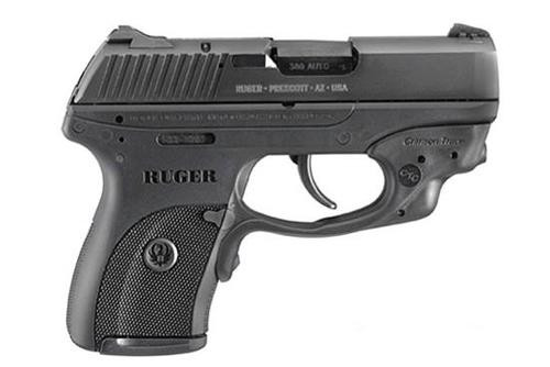 "Ruger LC380 380 ACP, 3.12"", Black Grip, Blued, 7rd"