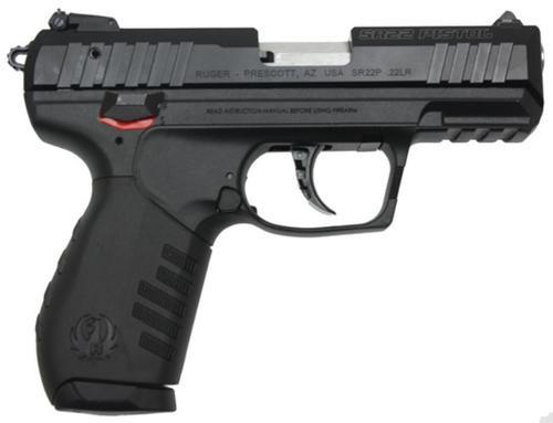 """Ruger SR22 Pistol, 22LR, 3.5"""", 10rd"""