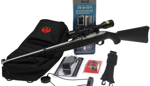 Ruger 10/22 Xtreme Take Down Package, W/Scope & Mags, Boresighted