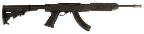 Ruger 10/22, TAPCO Assault Stock, Flash Suppressor and 25 Round Magazine