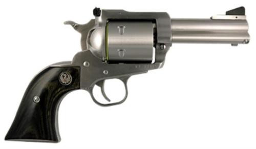 "Ruger Super Blackhawk 44 Mag, 3.75"" Barrel, Stainless Steel, Black Laminate Grips, 6rd"