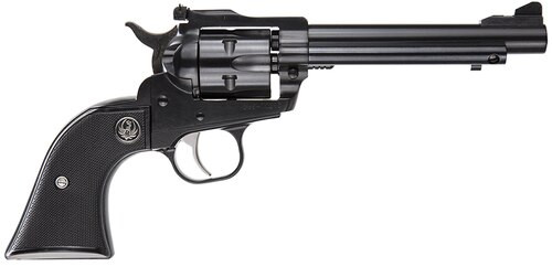 "Ruger Single-Six 22LR/22 Mag, 5.5"" Barrel, Adjustable Sights, Blued Finish"