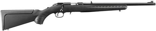 "Ruger American Rimfire Compact, TB Bolt 17HMR 18"" Barrel, Black Composite Stock Blued, 9rd"