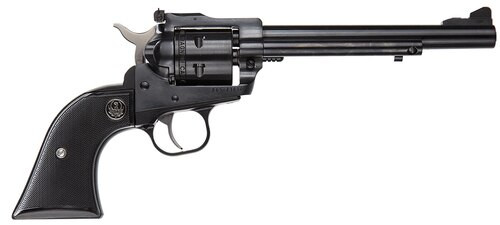 "Ruger Single-Six 22LR/22 Mag, 6.5"" Barrel, Adjustable Sights, Blued Finish"