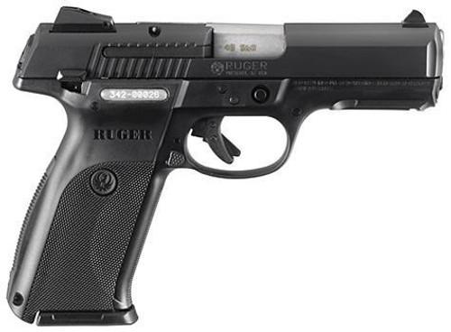"""Ruger SR40 Pistol, 40SW, 4.1"""" Barrel, Black, 15 Rd Mag"""