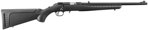 "Ruger American Rimfire Standard 22LR, 18"", Black, 10rd"