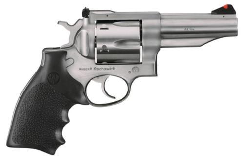 """Ruger Redhawk 45 Colt, Houge Grip, 4"""", SS"""