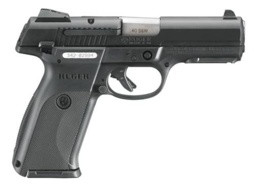 Ruger SR40 Pistol, Black, 10RD Mag