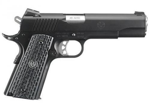 "Ruger SR1911 45 ACP, Lightweight Commander, Night Watchmen, 4.25"" Barrel, 8 rd Mag"