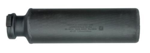 MG-SD Light Machine Gun Silencer 7/62mm/5.56mm 5.2 Inches 90T Ratchet Taper Mount 2 Inch Diameter Cerakote Finish - All NFA Rules Apply