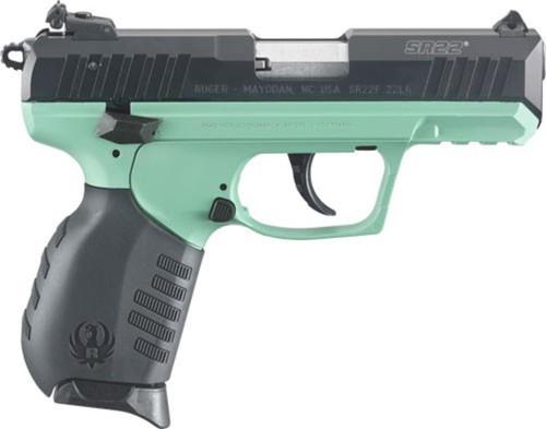 RUGER SR22PB TURQUOISE CERAKOTE .22LR 10-SHOT (TALO EDITION)