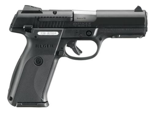 "Ruger SR9 Pistol, 9mm, Black, 4.1"" Barrel, 10 Rd Mag"
