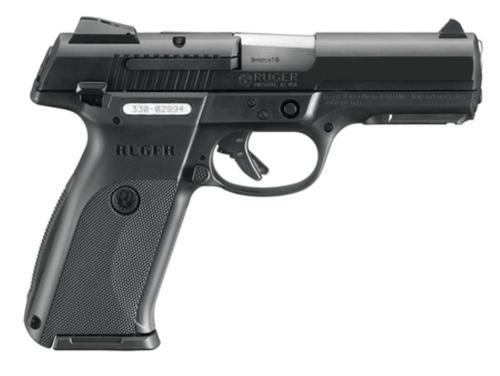 """Ruger SR9 Pistol, 9mm, Black, 4.1"""" Barrel, 10 Rd Mag"""