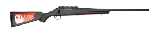 "Ruger American Rifle, .243 Win, 22"" Barrel, 4rd, Black"