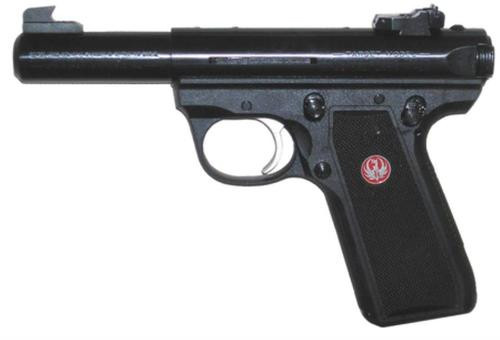 "Ruger Model 22/45 Mark III Rimfire Pistol, 4"" Barrel/Adjustable Sights/Blue Finish"
