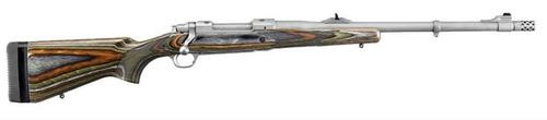 """Ruger Guide Gun, 338 Winchester Magnum, 20"""", SS, Laminated Stock"""
