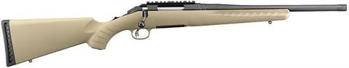 Ruger American Ranch Bolt Action Rifle, .223 Remington/5.56 Nato, Flat Dark Earth, 16.2""