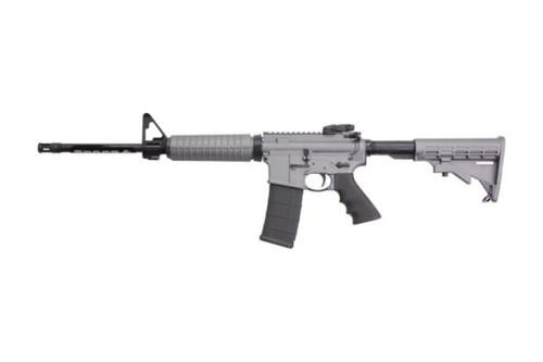 "Ruger AR556 AR-15 Rifle16"" Barrel Adjustable Stock, Tactical Grey Finish, 30 Rd Mag"