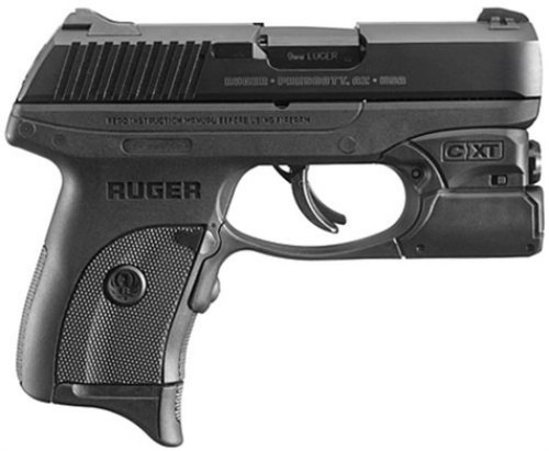 "Ruger LC9S Pro, 9mm, 3.12"", 7rd, Blued, W/Crimson Trace Light"