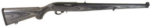 "Ruger 10/22 22LR 18.5"" Black Laminate Mannlicher Stock"