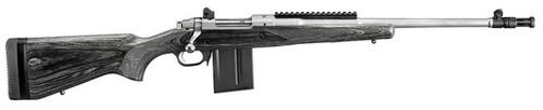 Ruger Gunsite Scout Rifle, 308, Matte SS, 10 Round Mag 18""