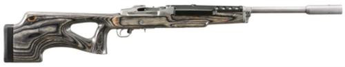Ruger Mini 14 Target Rifle, 223, SS, Tunable Barrel, Scope Rings, 5 Rnd Mag