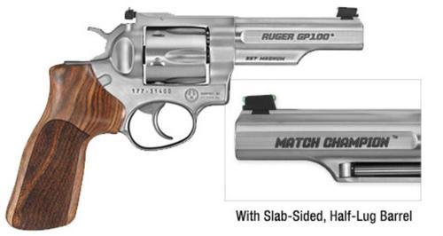 Ruger GP100 Match Champion Revolver, .357 Magnum, 6 Rd