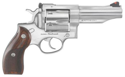 "Ruger Redhawk, 45 ACP/45LC, Stainless, 4.2"", 6rd"