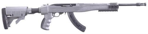 Ruger 10/22 Tactical .22LR Gray 6-POS Stock, 25 Rnd Mag