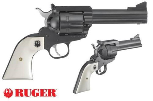 "Ruger Blackhawk Flattop 45LC/45 ACP, 4 5/8"" Barrel Ivory Grips, Adjustable Sights"