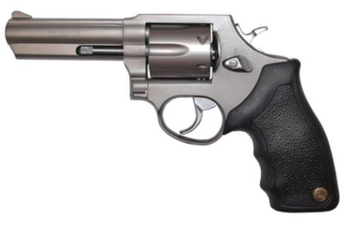 "Taurus Model 65 Standard 357 Mag 4"" Barrel, Fixed Sight, Rubber Grip, Matte SS Finish, 6rd"
