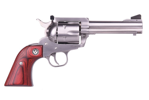 "Ruger Blackhawk Flattop Stainless .357 Mag/9mm 4 5/8"" Barrel 6rd, Two Cylinders"