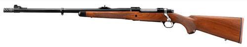 Ruger African Model M77 Hawkeye, 375 Ruger, Walnut, Left Hand