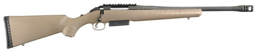 "Ruger American Ranch .450 Bushmaster 16"" Threaded Barrel Adjustable Trigger Flat Dark Earth 3rd"