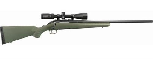 "Ruger American Predator Rifle 6.5 Creedmoor 22"" Threaded Barrel, Vortex Crossfire II 4-12x44mm Scope 5rd Mag"