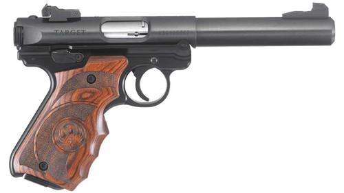 """Ruger Mark IV Target .22LR 5.5"""" Bull BarrelTarget Laminate Grip 10rd Mag"""
